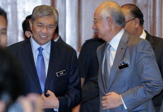 Benarkan Ahmad Zahid tidak lagi mendapat kepercayaan Najib?