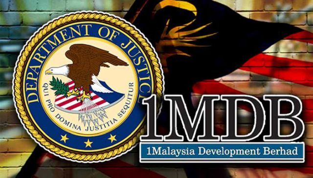 Department of justice 1mdb