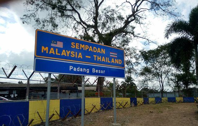 sempadan malaysia thailand