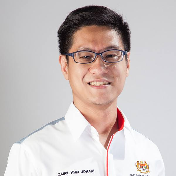 Zairil Khir Johari kecundang pemilihan DAP Pulau Pinang