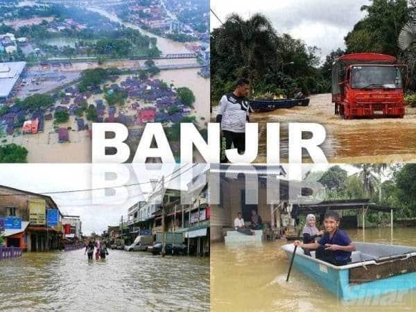 Sekolah tetap dibuka walaupun dilanda banjir lumpur di Kapit