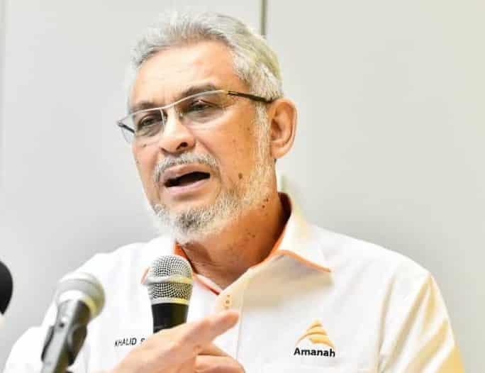 Kemelut politik Perak: Umno mesti bincang dengan PH, kata Khalid