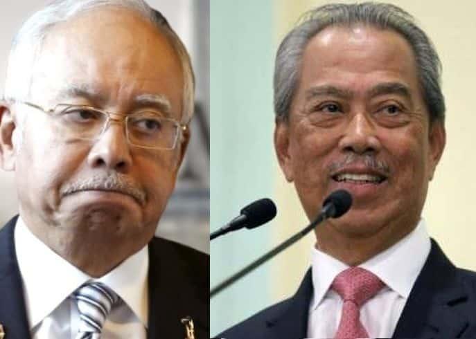 Muhyiddin tersenyum puas bila Najib dihukum, dakwa AMT Umno