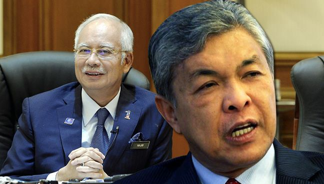 Selepas ditekan keluar Umno dari PN, Zahid didesak lantik Najib Pengerusi BN