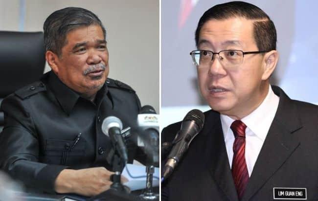 Istana Negara tangguh sessi menghadap AMANAH DAP