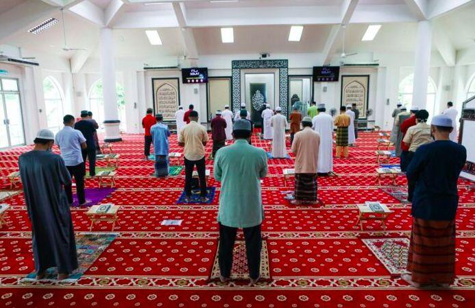 Solat Jumaat mula dibenarkan di Selangor tetapi 40 makmum sahaja