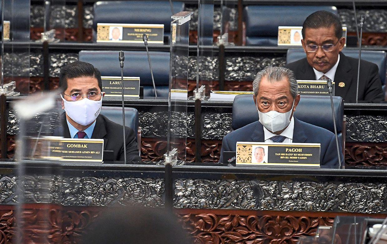 Sidang ditangguh, Ahli Parlimen cari Mahiaddin dalam Dewan desak letak jawatan