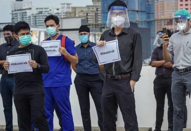 AMANAH gesa Hamzah hentikan serta merta siasatan ke atas doktor kontrak
