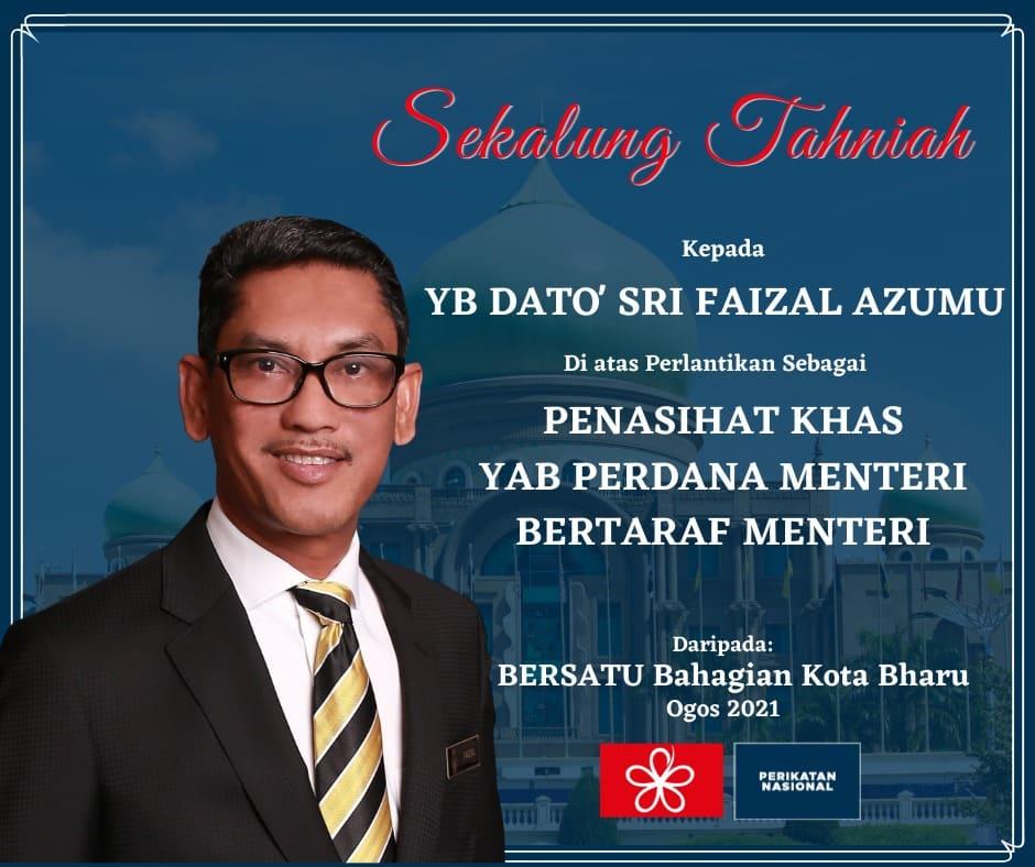 Faizal Azumu dilantik penasihat khas PM bertaraf menteri