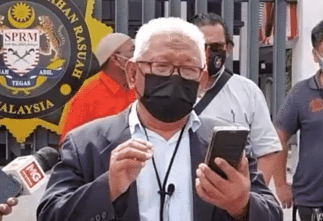 Ahli AMANAH Wilayah Persekutuan buat laporan SPRM terhadap Annuar