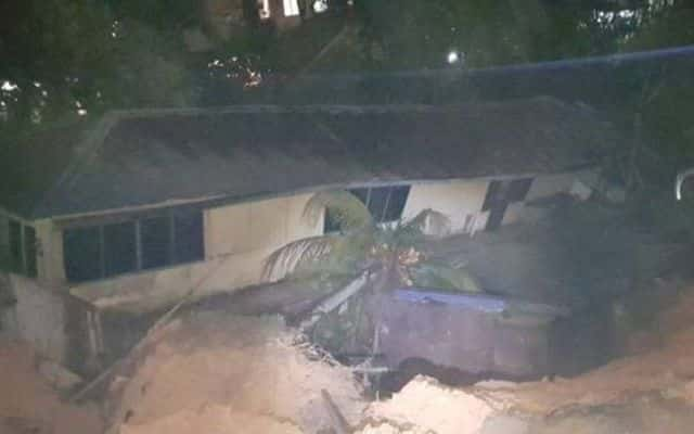 28 keluarga terjejas akibat tanah runtuh di Kemensah Height