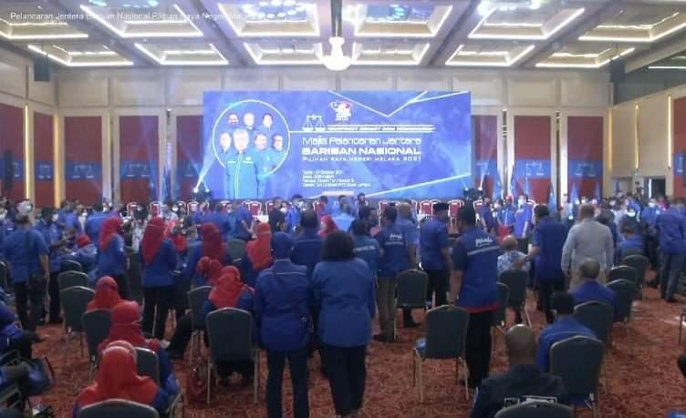 Lancar jentera PRN Melaka: BN dikompaun RM10,000